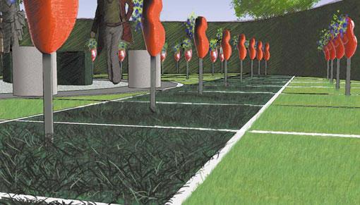 overzicht tuinprojecten Frank Fritschy gardendesign expositie tuinen