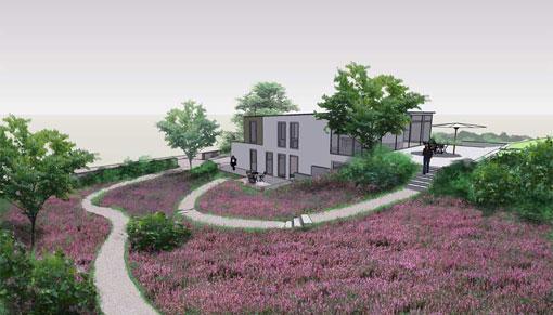 overzicht tuinprojecten Frank Fritschy gardendesign heide tuinen