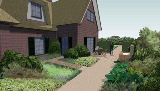 overzicht tuinprojecten Frank Fritschy gardendesign retro tuinen
