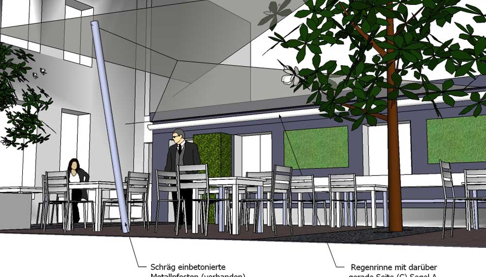 ontwerp restauranttuin