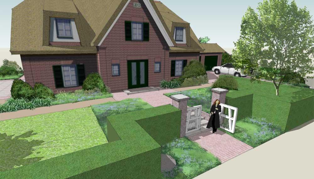 robust wit tuinhek voor trappartij voor dertiger jaren huis